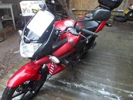 hpi clear honda cbf 125cc very low mileage