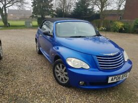 One Careful Owner - Convertible Chrysler PT Cruiser 2.4L Limited Edition