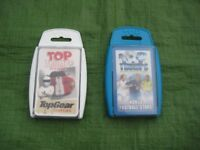 World Football Stars and Top Gear Cool Cars Top Trumps Card Games/Collector's Items