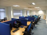 Golden chance to let 1st floor ready made office . Ideal for call centre, Accountants , Solicitors