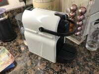 Nespresso Machine - With Aerocino Milk Frother, pod holder and 2 cups