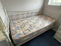 Single Day Bed Frame - Cream
