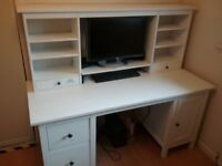 Hemnes office desks & tables for sale gumtree