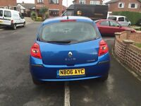 Renault CLIO, Blue, 84000 Miles, 1.4 Petrol, £1000, Great runner, Good overall condition