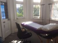 1 Harley St, beautiful prestigious treatment room available to let for exceptional rate on Fridays.