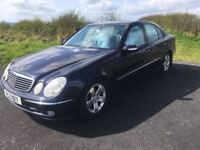 2003 Mercedes E Class Avantgarde, Low Miles only 62850, 1 Years Mot, Warranty