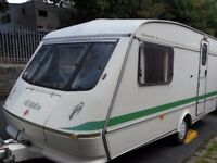 Part X To Clear Elddis Hurricane Two Berth Touring Caravan