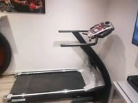 Motorised gym standard treadmill