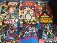 Star Wars Weekly Comics For Sale