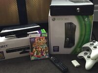 Xbox 360 & Kinect with extras