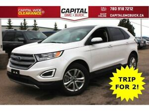 2017 Ford Edge SEL AWD | HEATED LEATHER | REMOTE START | 8 TOUCH