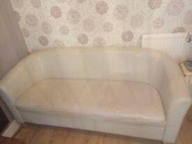 Beige sofa-used-collection only
