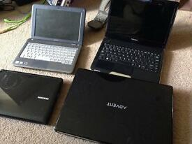 Lot of 5 Working Dual Core Laptops