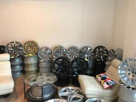 Alloy Wheels For Sale . All Brand New (Refurbished) . Audi , VW , Seat , Ford , BMW , Isuzu