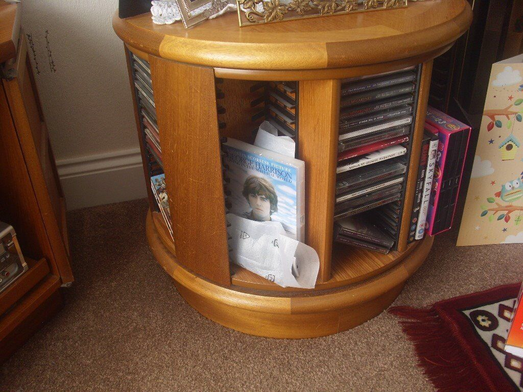 Teak coffee table/CD storage | in Kelso, Scottish Borders ...