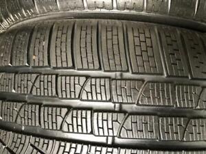 2 pneus 265/40/18 Pirelli sottozero2 winter presque nouveau