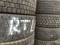 Used tyres - part worn truck tyres 265/70 R19.5