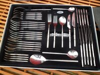 stellar 44 piece quality stainless steal cutlery set BR58