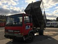 Daf 45 150 turbo cage tipper Truck