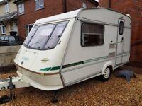 Elddis ex300 2 berth caravan