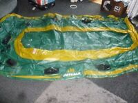 outback solid dinghy 3/4 man new no box