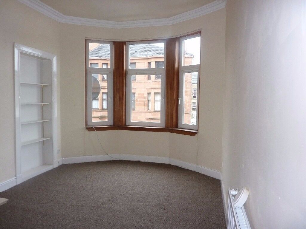 One bed unfurnished flat, Niddrie Rd, Strathbungo, £495pcm