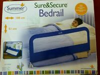 Summer Sure and Secure bedrail