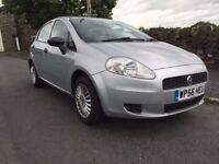 FIAT GRANDE PUNTO 56 REG 5DOOR 1.2, FULL SERVICE HISTORY, EXCELLENT CONDITION ONLY 65K!, LADY OWNER!