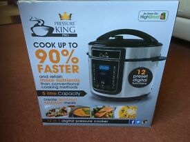 Pressure King Pro Digital Pressure Cooker BNIB