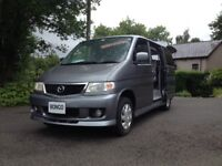 NEW SHAPE LATE PRODUCTION HI SPEC MAZDA BONGO MOTOR CARAVAN DAY SURF MPV BUS 8 SEATER/NEW CAMBELT
