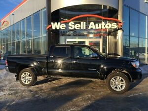2013 Toyota Tacoma LIMITED 4WD CREW *LOW KM *LTHR *HTD SEATS