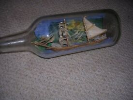 Ship in a Bottle for sale