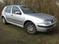 AUTOMATIC VW GOLF - 1 YEARS MOT - JUST SERVICED