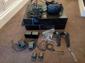HTC Vive Virtual Reality Headset for PC Steam VR Used Excellent Condition