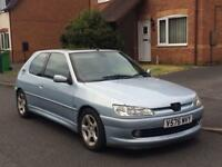 Peugeot 306 D.Turbo 2.0 HDi..Moonstone blue..Sunroof model