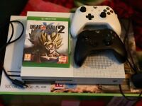 XBox One S 500Gb w/ Dragonball Xenoverse 2 and two controllers