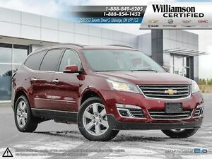 2016 Chevrolet Traverse LTZ**AWD**NAV**SUNROOF**DVD**BCK UP CAM