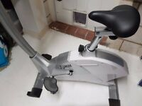 DKN AM-E exercise bike in perfect almost unused condition.