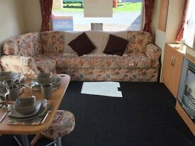 SUPER STARTER CARAVAN BASED AT SOUTHERNESS HOLIDAY PARK JUST OUTSIDE DUMFRIES