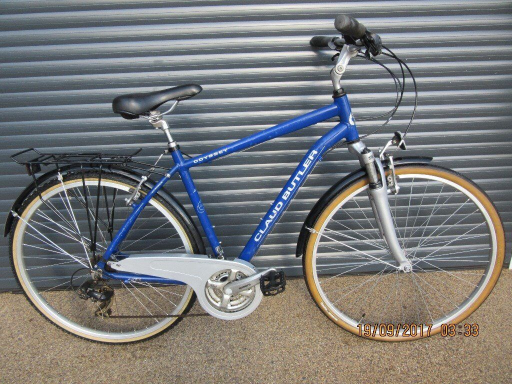 CLAUD BUTLER ODYSSEY LIGHTWEIGHT ALLOY TOWN / TERECKING BIKE IN EXCELLENT LITTLE USED CONDITION
