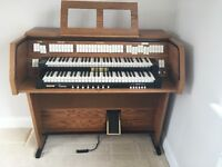 Electric viscount organ