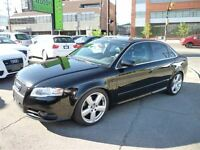 2006 Audi A4 3.2 QUATTRO S LINE/6 SPD MANUAL/NAVI/SUNROOF/ALLOY