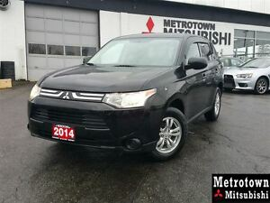 2014 Mitsubishi Outlander ES 4WD; Local, one owner, no claims