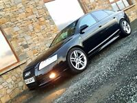 Audi A6 3.0 tdi s line Quattro f/s//h black edition styling mint car