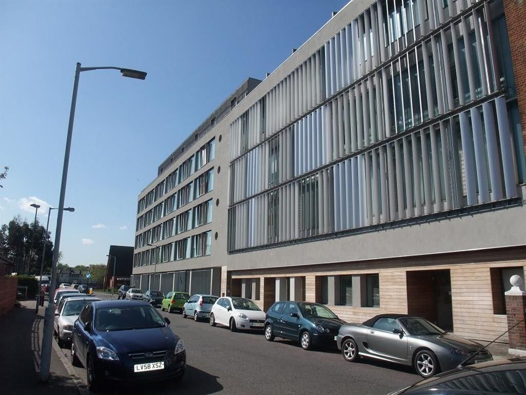 A very large, one double bedroom apartment situated within a modern complex.