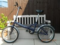 "Apollo 20"" Folding Bike in Dark Blue"