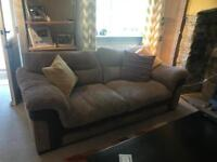 DFS 'Marsh' 3 seater sofa