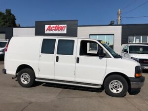 2017 GMC Savana 2500 shelving and ladder racks available
