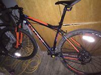Carrera limited edition downhill mountain bike