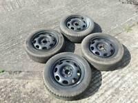 """13"""" Standard Steel Wheels"""